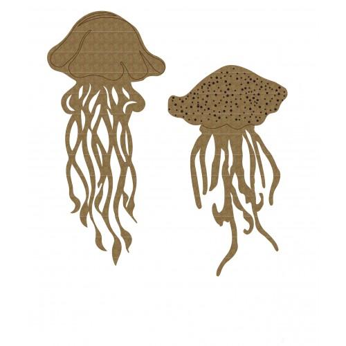 Jellyfish Set 1 - Chipboard