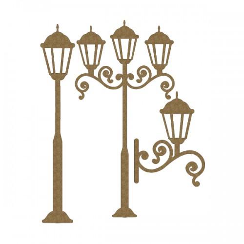 Lamp Post Set - Lighting
