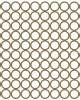 "Mini Circle Panel - 6"" x 6"" Lattice Panels"