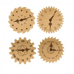 Mini Gear Wood clocks
