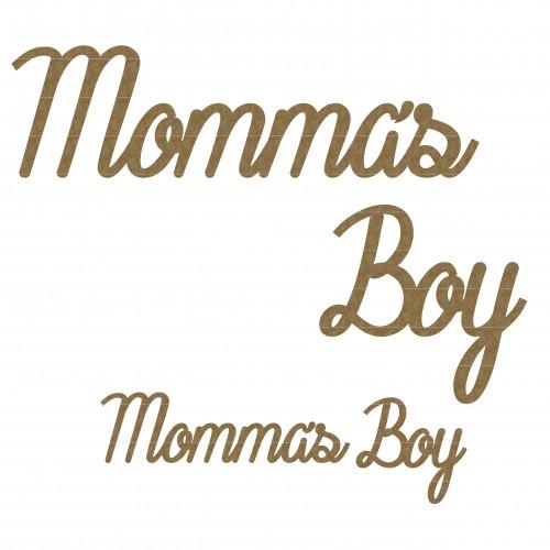 Momma s Boy Title - Words
