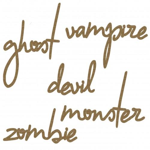 Monster Word Set 1 - Words