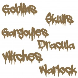 Monster Word Set 3