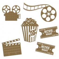 Movie Night 6 Piece Set