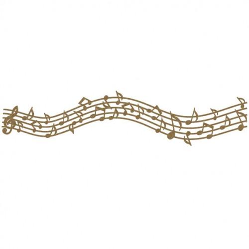 Music Note Border 2 - Borders