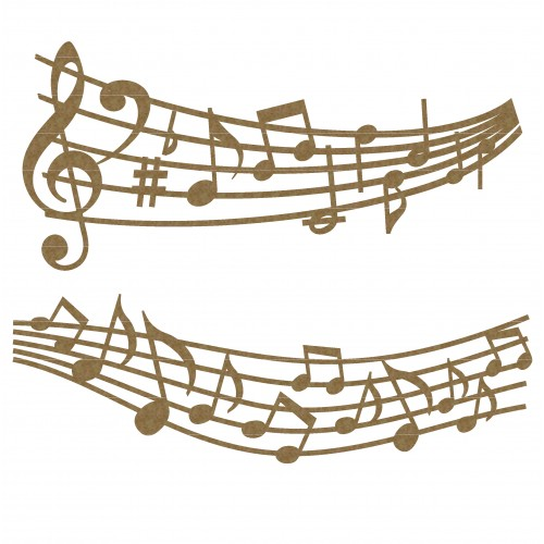Music Note Borders - Music