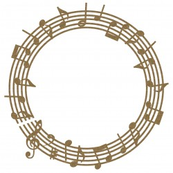 Music Note Frame 1