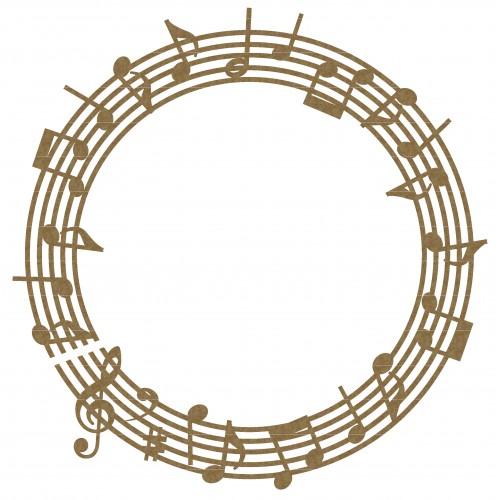 Music Note Frame 1 - Music