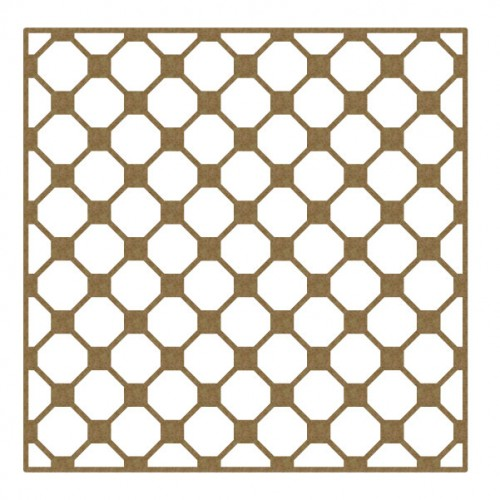"Octagon Panel - 6"" x 6"" Lattice Panels"