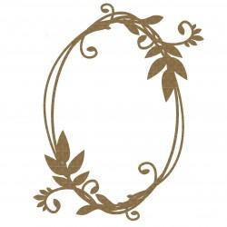 Oval Frame 3