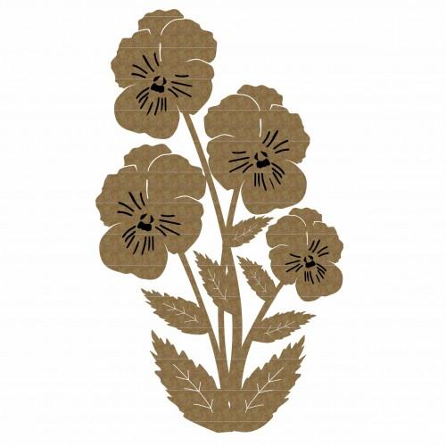 Pansies - Flowers