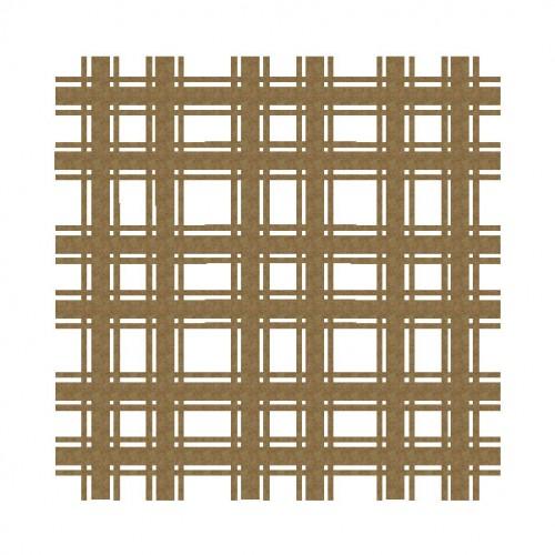 "Plaid Panel 2 - 6"" x 6"" Lattice Panels"