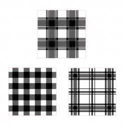 Plaid Stamps Set 1