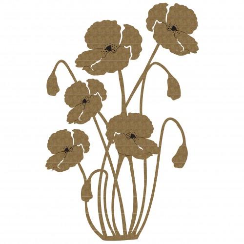 Poppy Cluster - Flowers