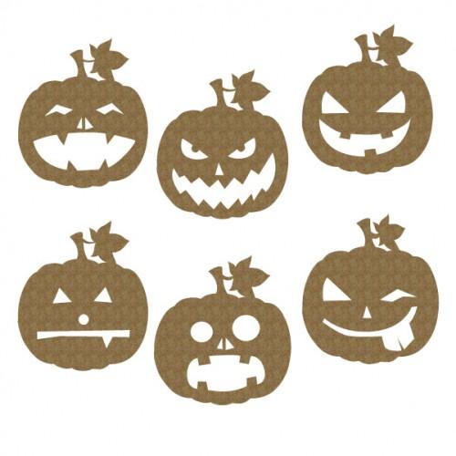 Pumpkin Faces - Halloween