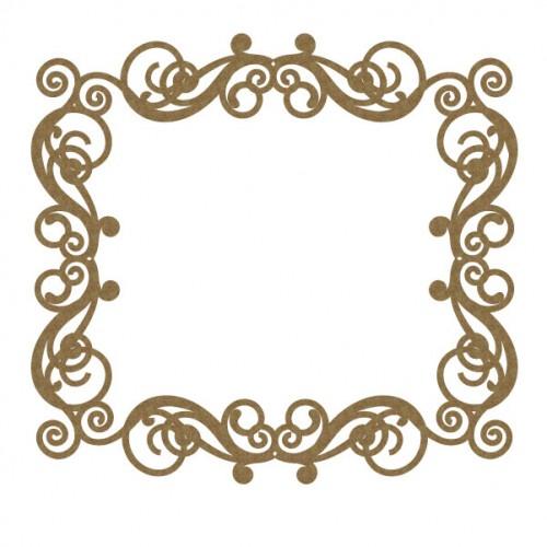 Rectangle Flourish Frame 1 - Frames