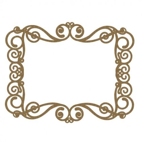 Rectangle Flourish Frame 2 - Frames