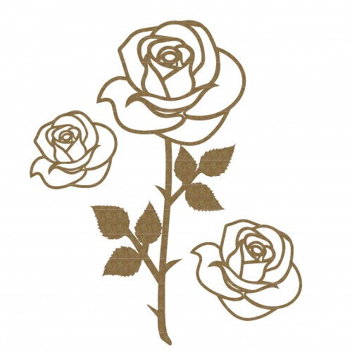 Rose Set 2 - Flowers