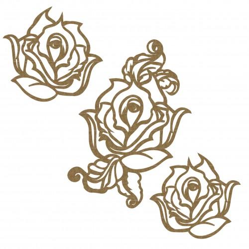 Rose Set 1 - Flowers