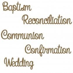 Sacrament Word Set