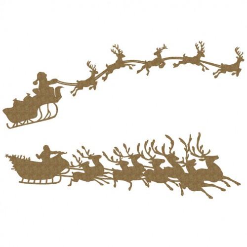 Santa s Sleigh - Christmas