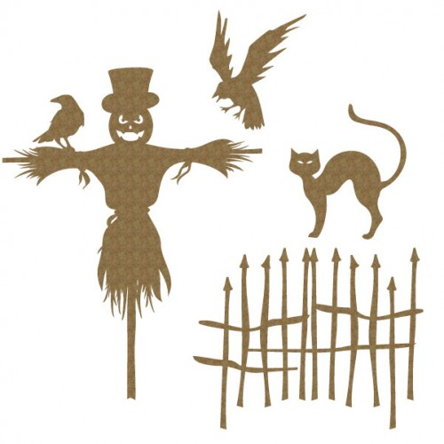 Scarecrow Set - Halloween