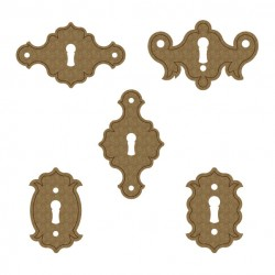 Simple Key Hole Plates