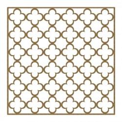 Simple Quatrefoil Panel