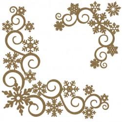 Snowflake Page Corner Set