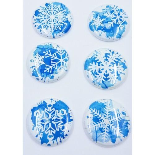 Watercolor Snowflakes - Flair