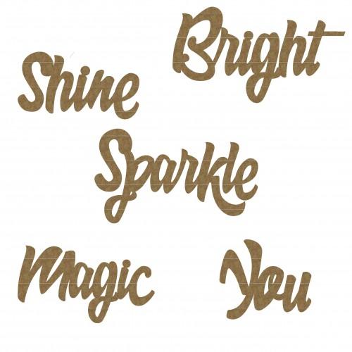 Shine Word Set - Words