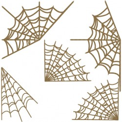 Spider Web Corner Set