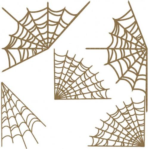Spider Web Corner Set - Halloween