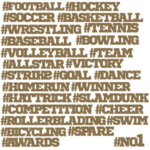 Sports Hashtags - Sports