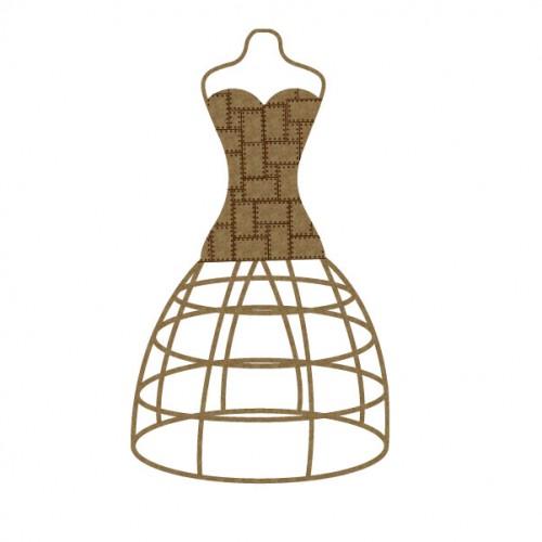 Steampunk Dress Form - Steampunk