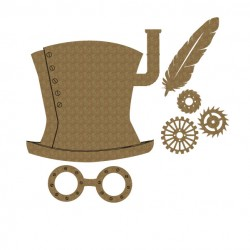 Steampunk Hat Set