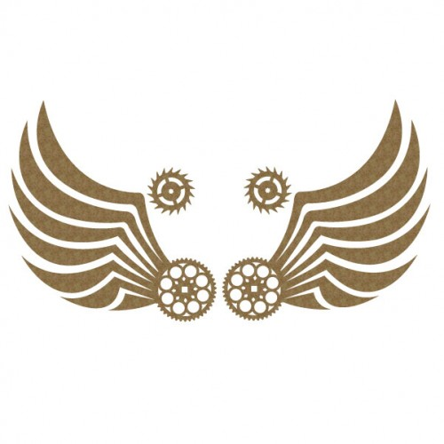 Steam punk Wing Set 3 - Steampunk