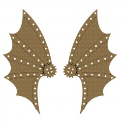 Steampunk Wings Set 1