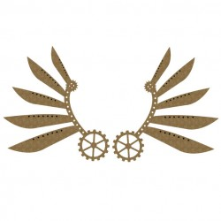 Steampunk Wings Set 2