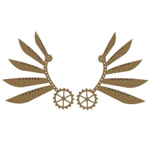 Steampunk Wings Set 2 - Steampunk