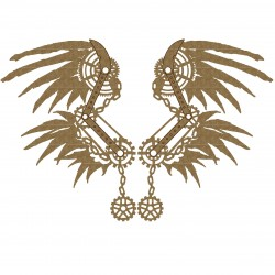 Steampunk Wings Set 4