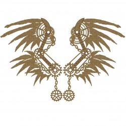Steampunk Wings Set 4