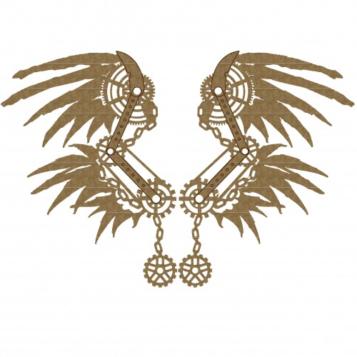Steampunk Wings Set 4 - Steampunk