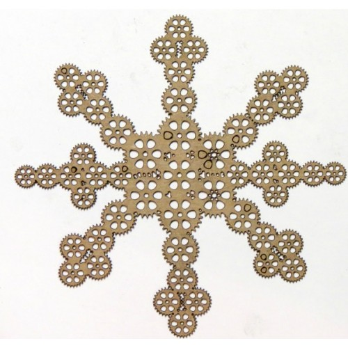 Steampunk Snowflake - Steampunk