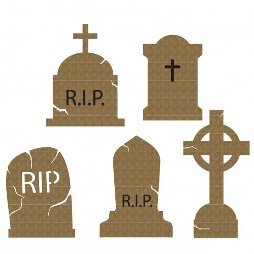 Tombstones - Halloween
