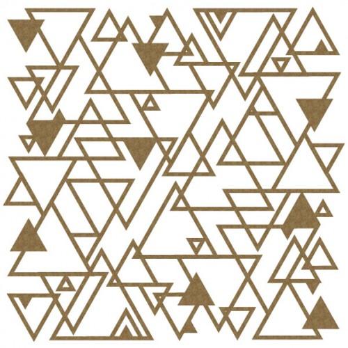 "Triangle Panel - 6"" x 6"" Lattice Panels"