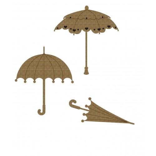 Umbrella Set 1 - Chipboard