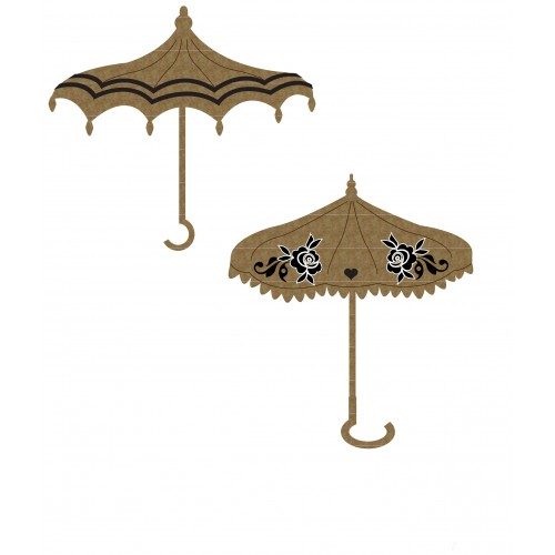 Umbrella Set 2 - Chipboard