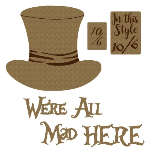 We re All Mad... - Chipboard
