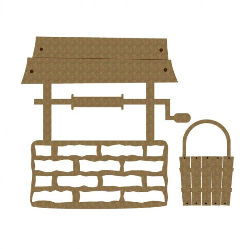Wishing Well - Chipboard